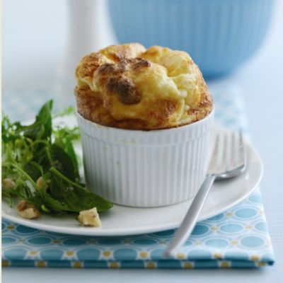 Goat's Cheese Souffle with a Walnut Salad#.VDZ8kGd0yUk#.VDZ8kGd0yUk