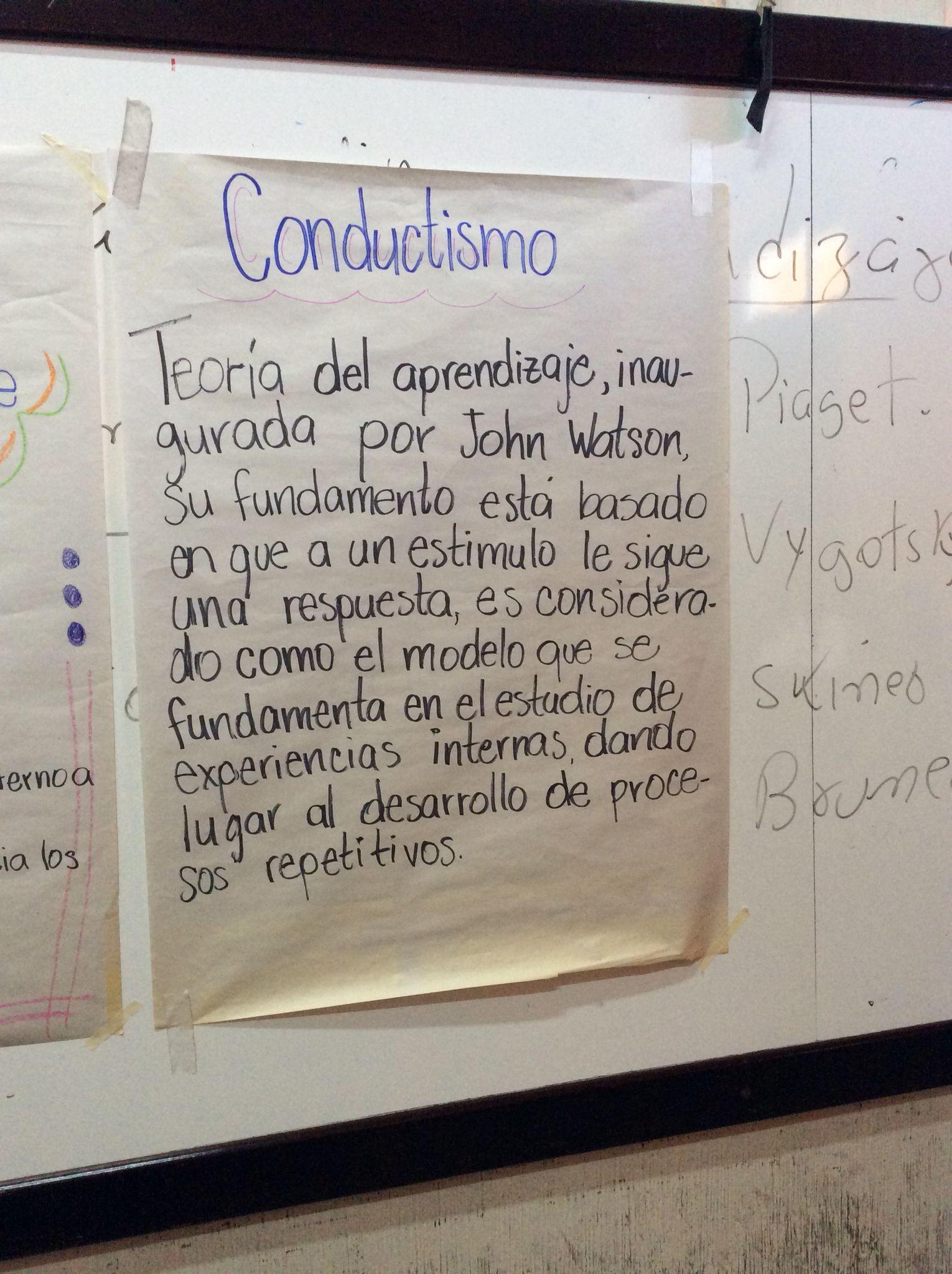 John Watson Conductismo Psicologia Cognitiva Psicologia