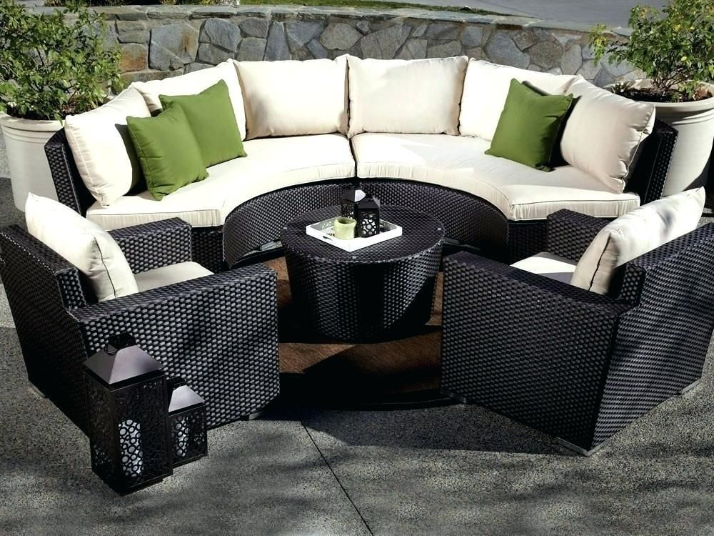Black Patio Furniture Covers Black Patio Furniture Sectional
