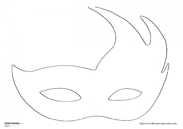 Diff rents mod les de masques pour le carnaval t l charger gratuitement au boulot les n - Masque de carnaval a imprimer gratuit ...