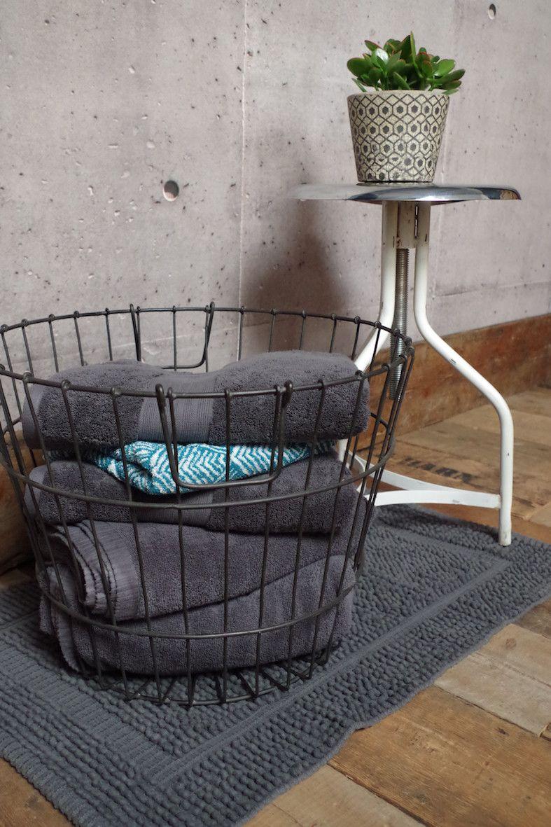 Round Wire Storage Basket | new bathroom | Pinterest | Wire storage ...