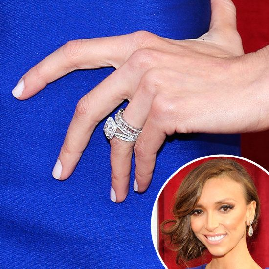 Giuliana Rancic: E!u0027s Red Carpet Host Giuliana Rancic Kept Her Manicure At  The SAG Awards Simple With A Pale Pink On Her Tips.