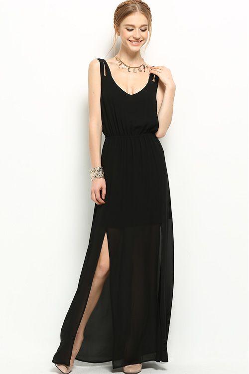 Claudia Dress in Black: Love the back!
