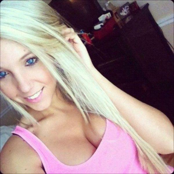 Turns! College teens blonde www