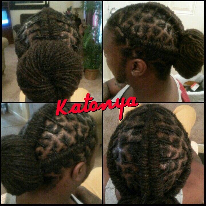 Double Barrel Twist Style Dreads Styles Dreadlock Hairstyles Hair Styles