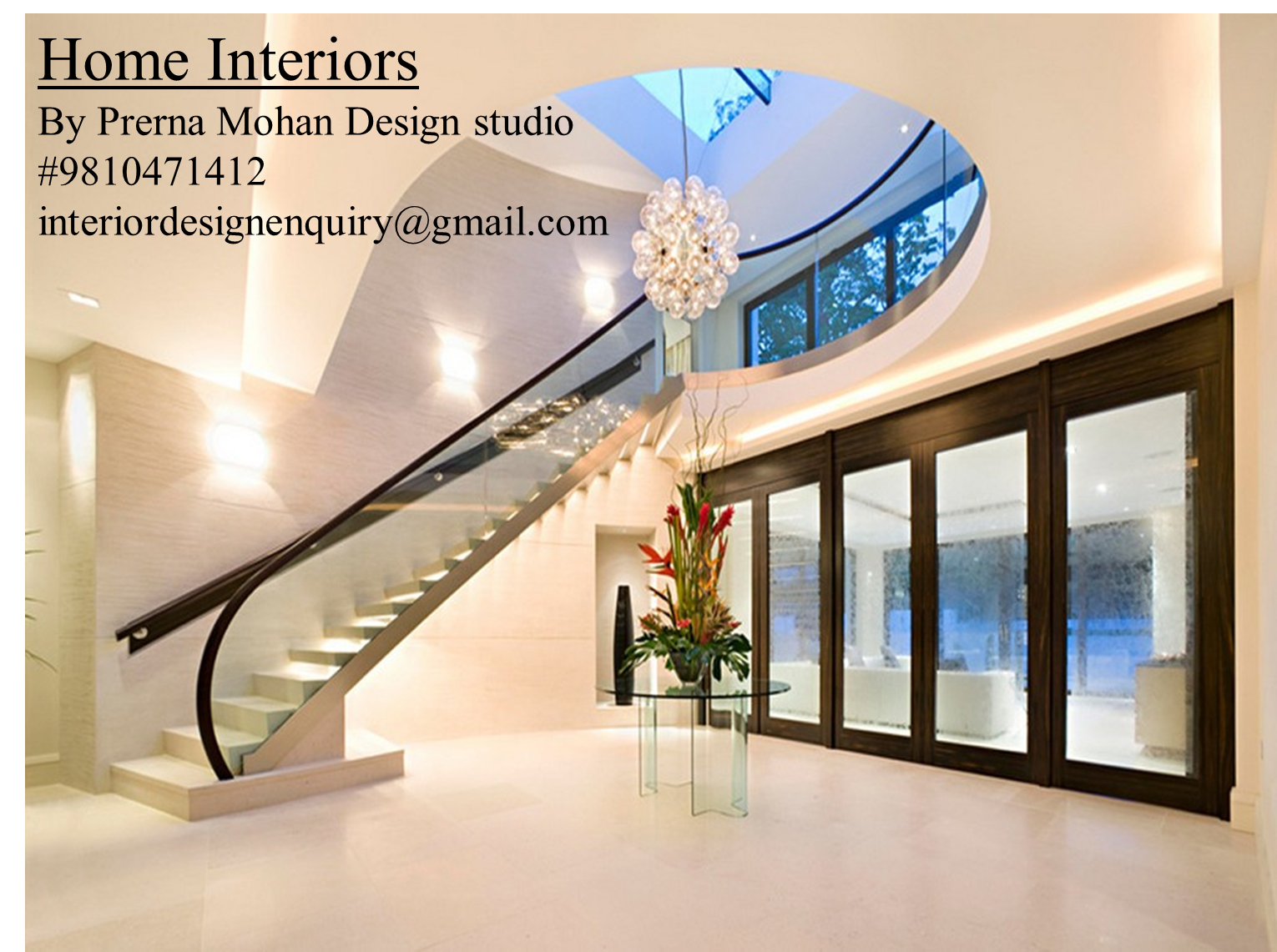 the dynamic style of modern home interiors. Prerna Mohan Design Studio Is A Professional And Dynamic Interior Company In Delhi Which Offers The Style Of Modern Home Interiors
