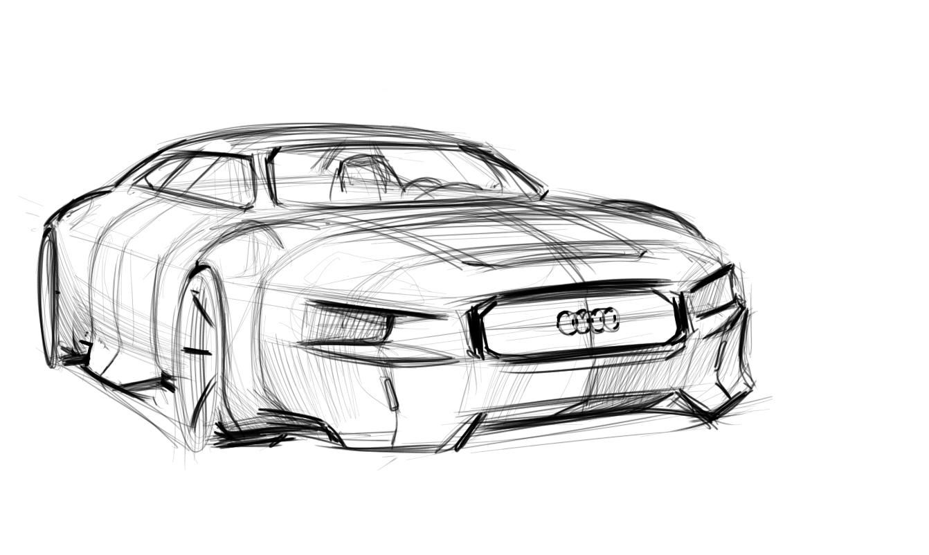 Audi Audi Design Pinterest Audi Cars And Car Sketch
