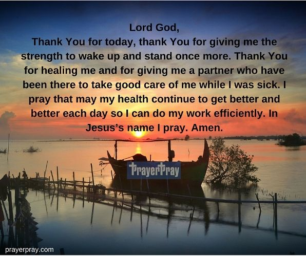 Thank You Lord God For Giving Me Strength To Stand Up Once