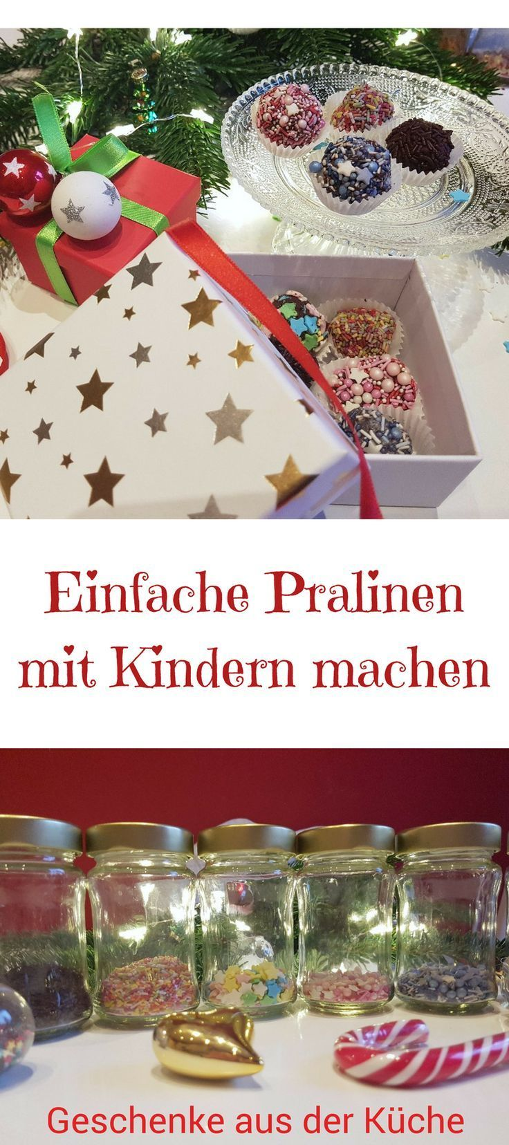 Anzeige: Rezept für einfache Pralinen mit Kindern - SIMPLYLOVELYCHAOS #kleinegeschenkeweihnachten