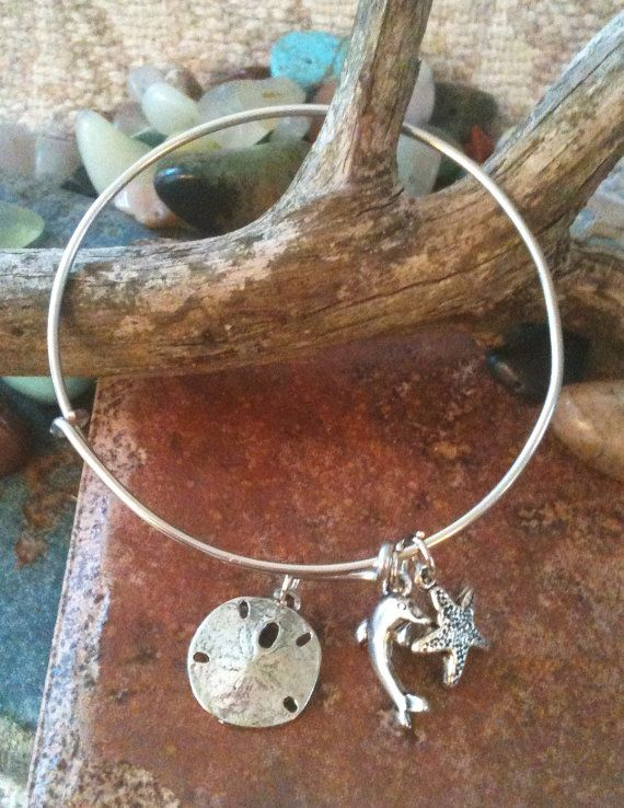 Alex And Ani Inspired Beach Bangle By Grecojewelry On Etsy 13 50