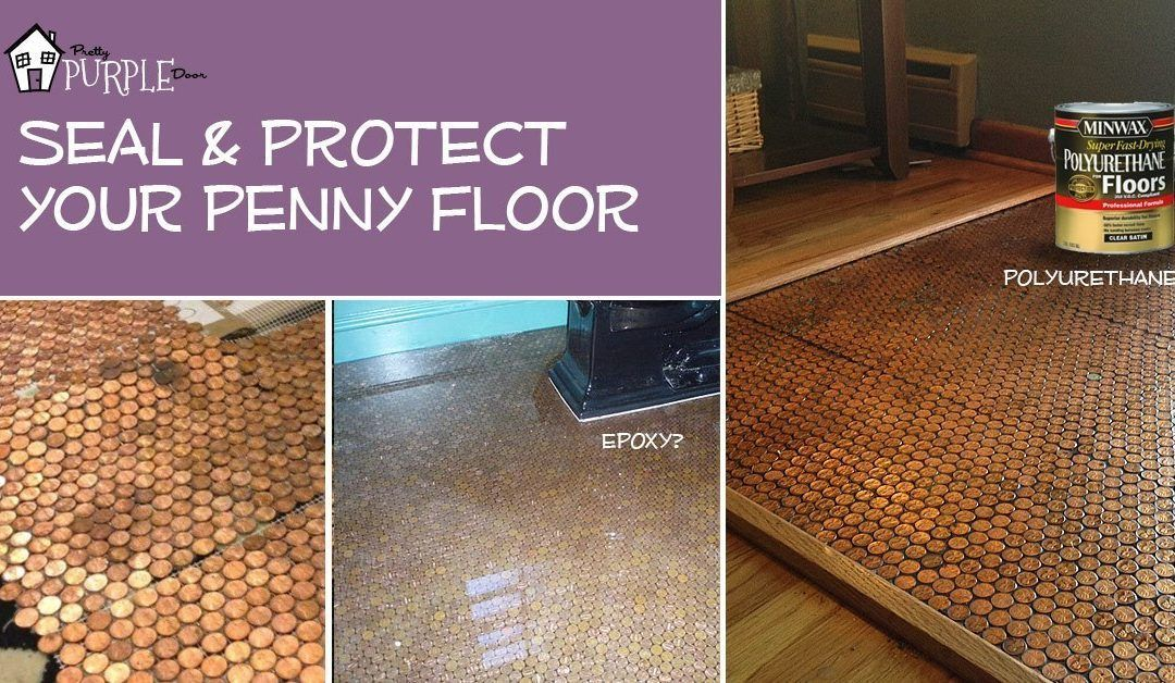 Time Saving Penny Floor Template Step By Step Instructions Pretty Purple Door Penny Floor Flooring Penny