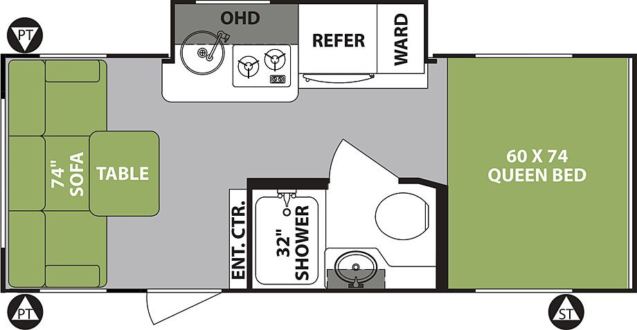 R Pod Rp 189 Travel Trailers By Forest River Rv R Pod Forest