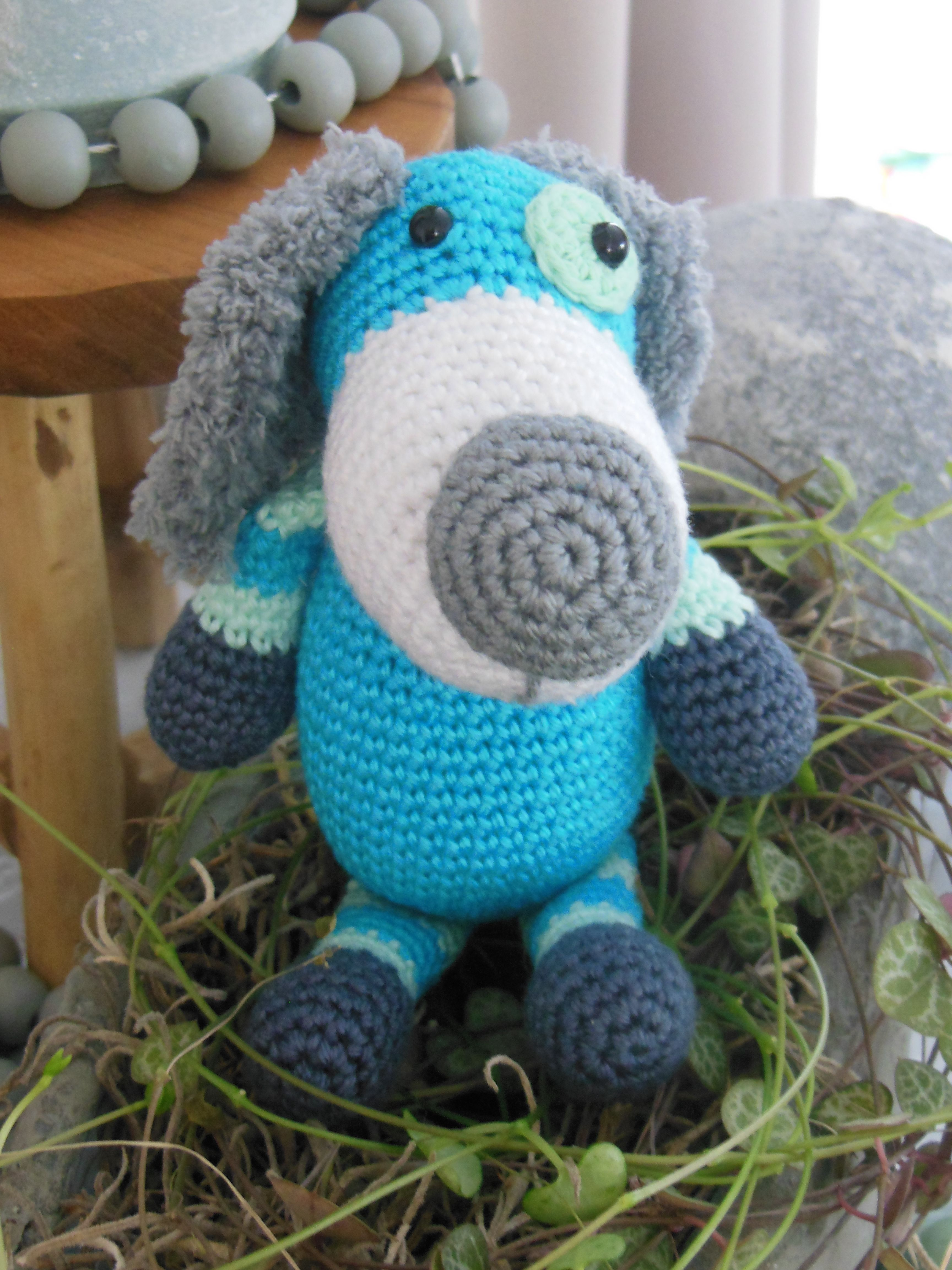 Stip En Haak 3 Hond Boris Junior 3 Crochet Dog Mooie Ideeën