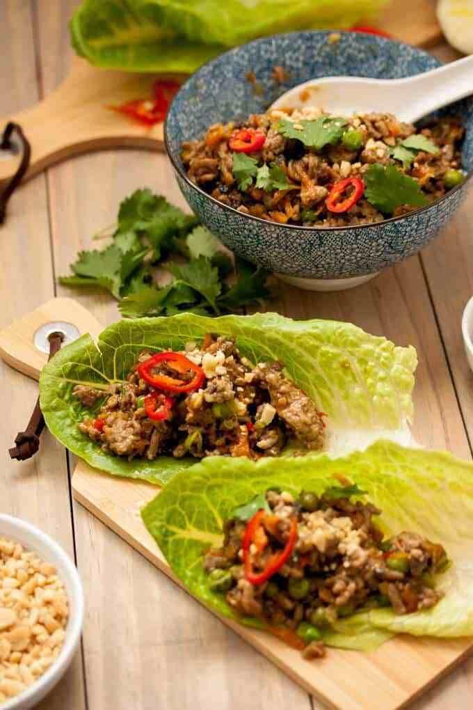 Turkey San Choy Bow by Sugar Salt Magic   Recipe   Healthy ...