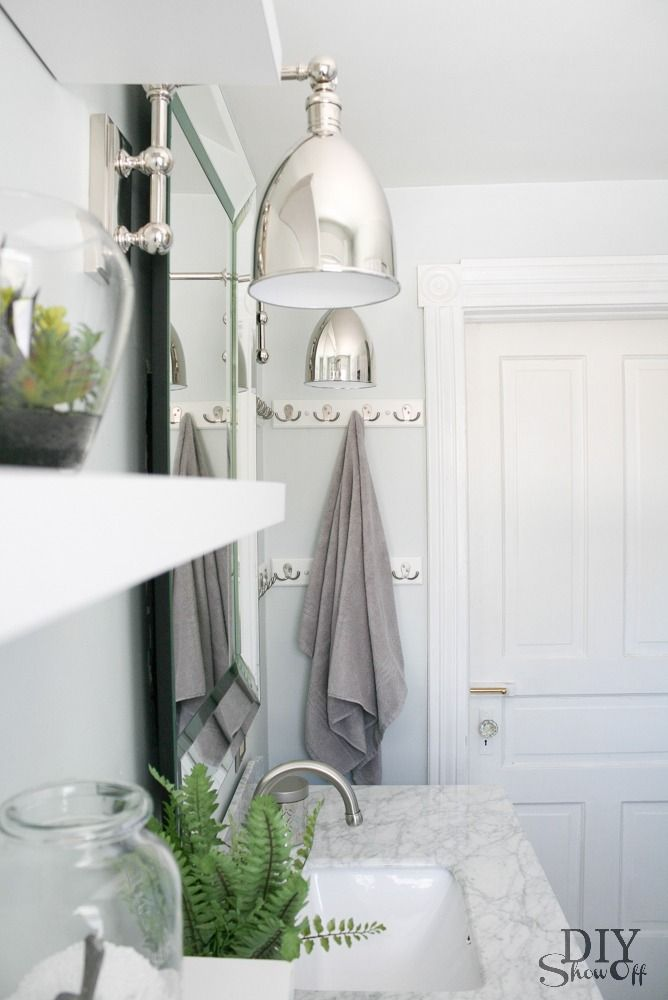 DIY Show Off | Bath, Wall sconces and Lights