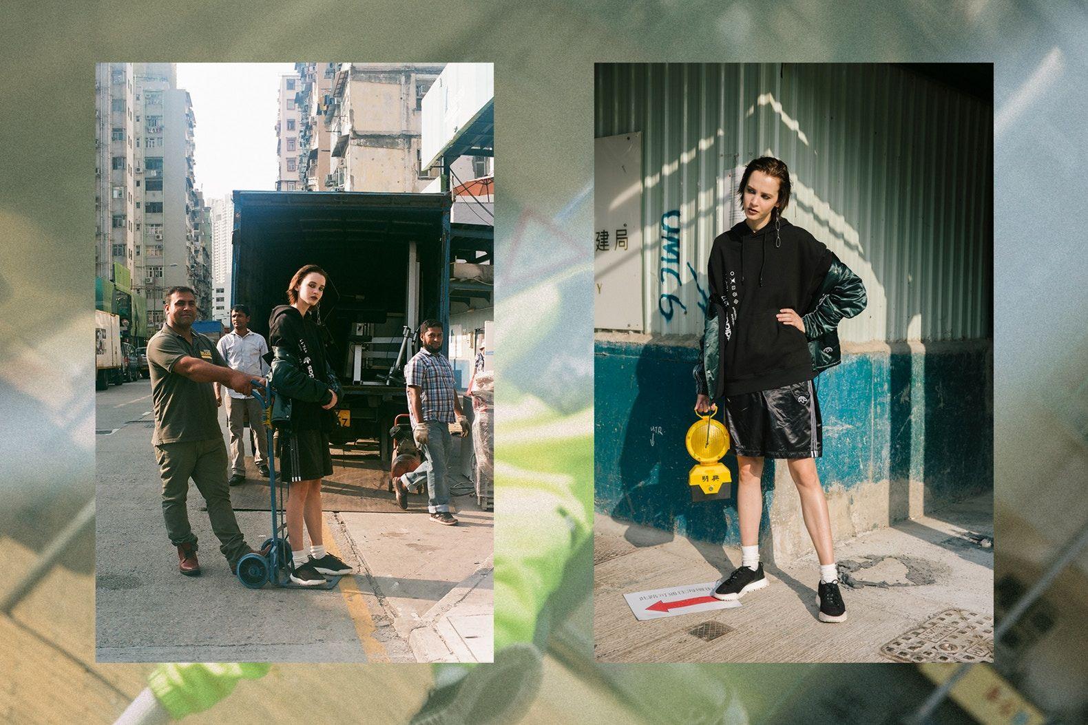 Alexander Wang x adidas Originals Season 2 Drop 3 Exclusive Editorial