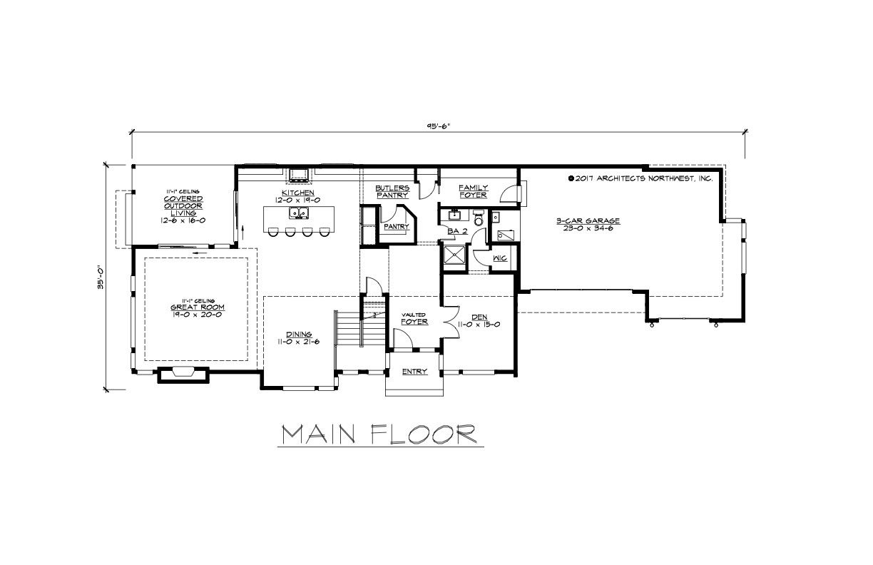 House Plans With Garage Setback Garage House Plans House Plans How To Plan