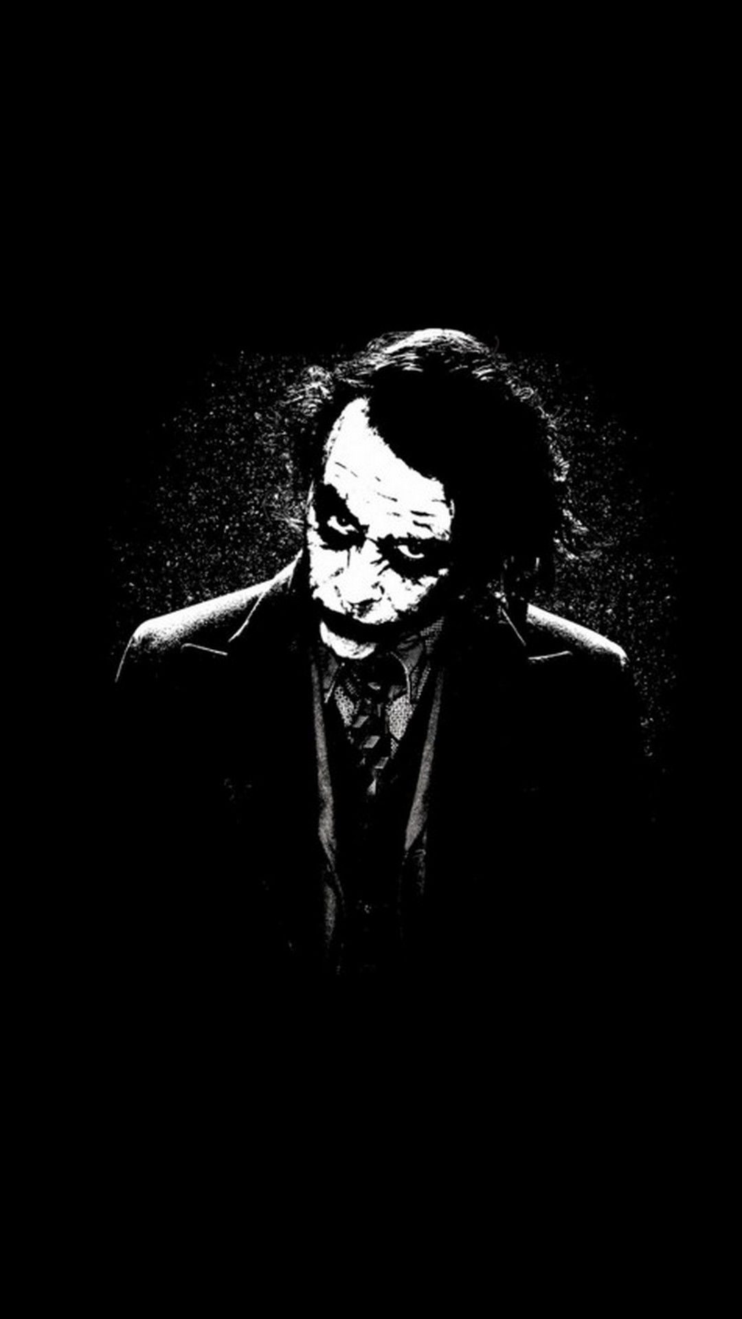 1080p Joker Black And White Wallpaper Hd
