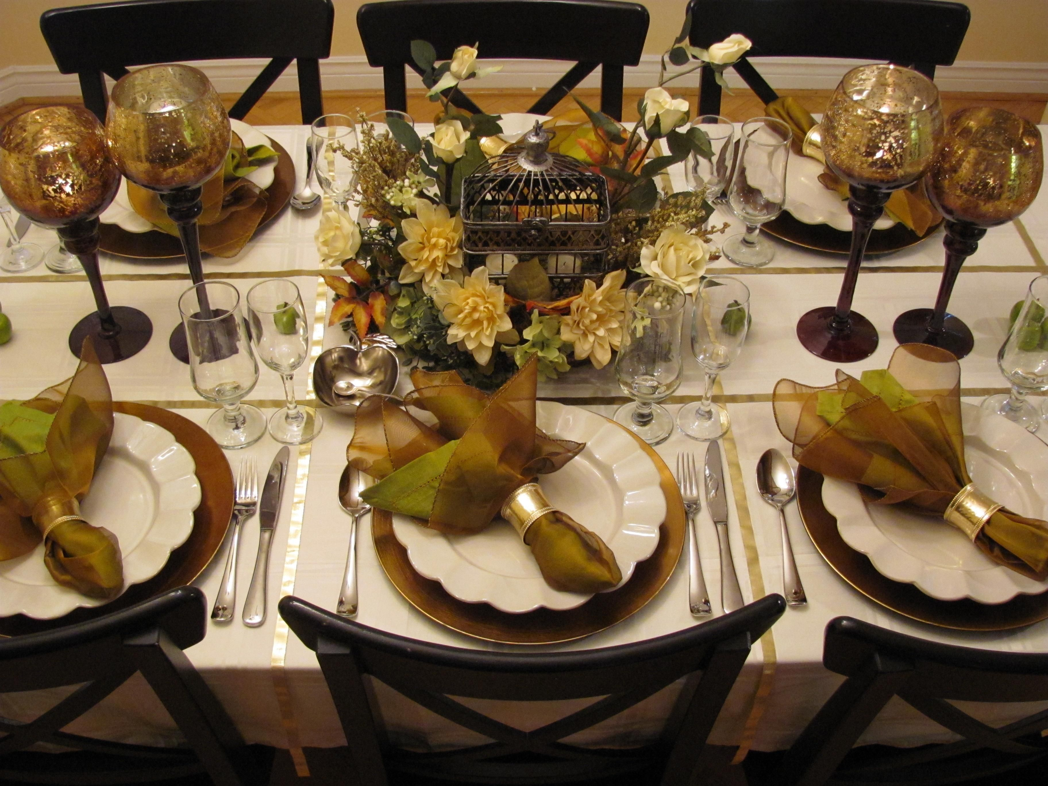 """Table decor for Rosh-hashana - """"Home story"""" www.home story ..."""