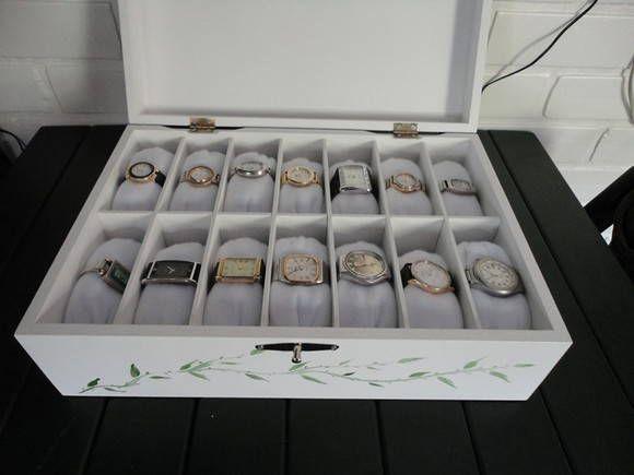bea254ebef8 Caixa de relógios