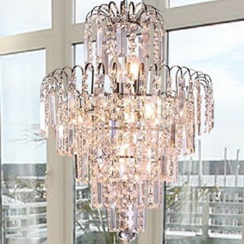 Ceiling fans decoration lightinthebox crystal luxury classic crown shape chandeliers european style pendant lamp with