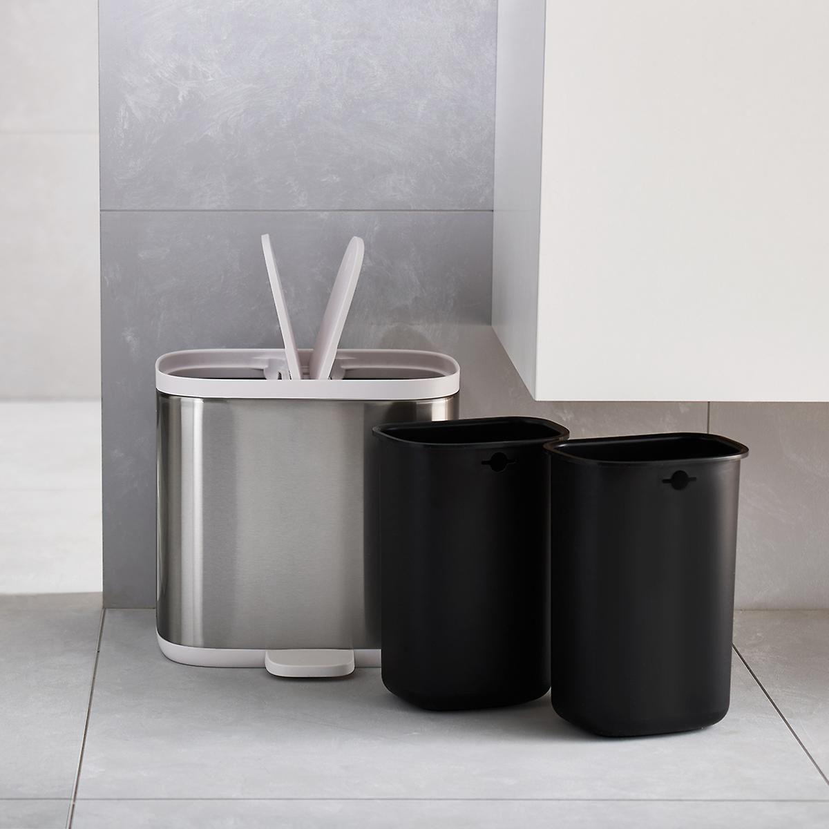 Joseph Joseph Split Recycler Trash Can Trash Can Kitchen Trash Cans Bathroom Bin