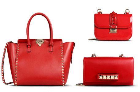 Bolsos Rojo De San Valentín Toque Color Por ValentinoUn Y6gyb7f