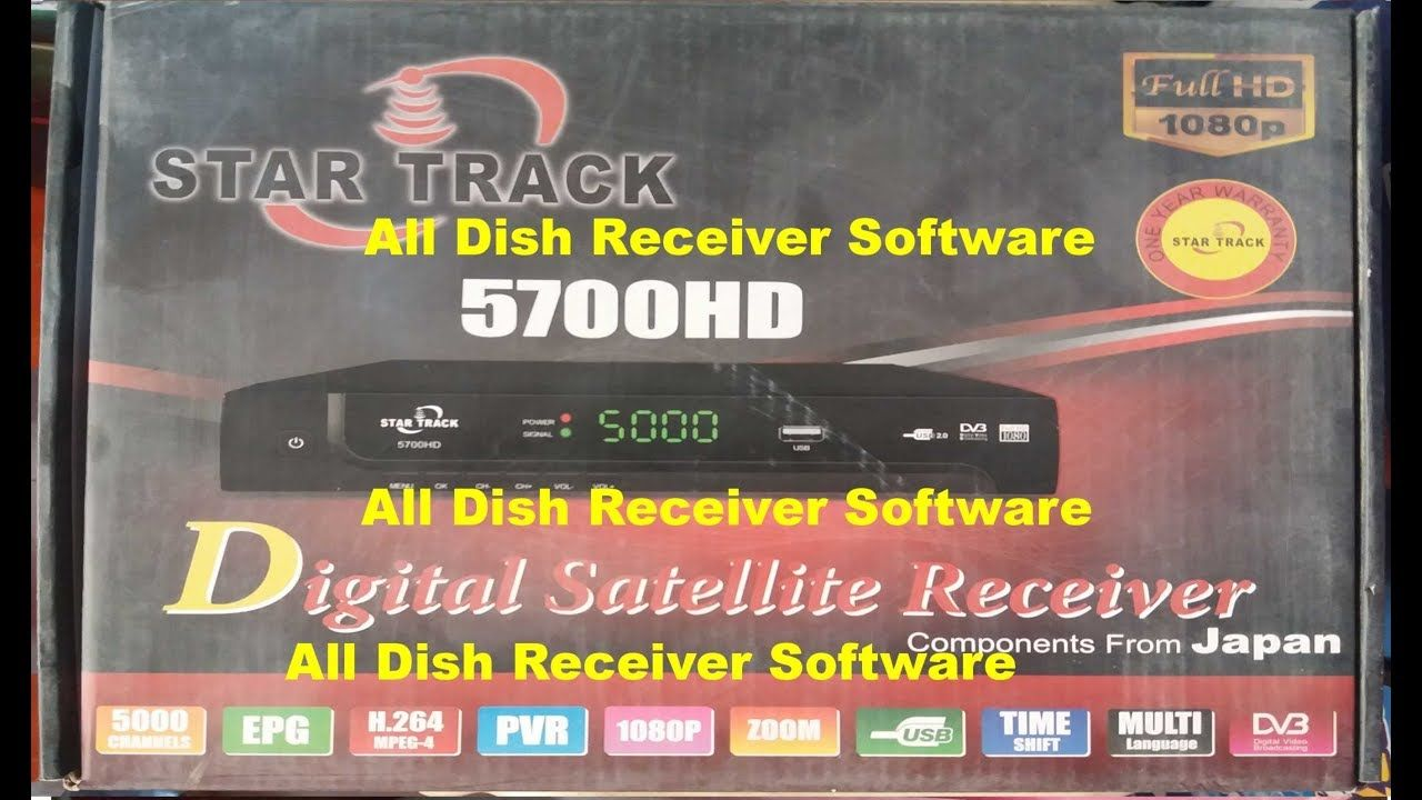 STAR TRACK 5700 HD RECEIVER AUTO ROLL BISS KEY NEW SOFTWARE | All
