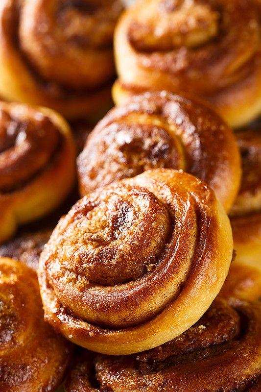 шведские булочки с корицей пошаговый фото рецепт