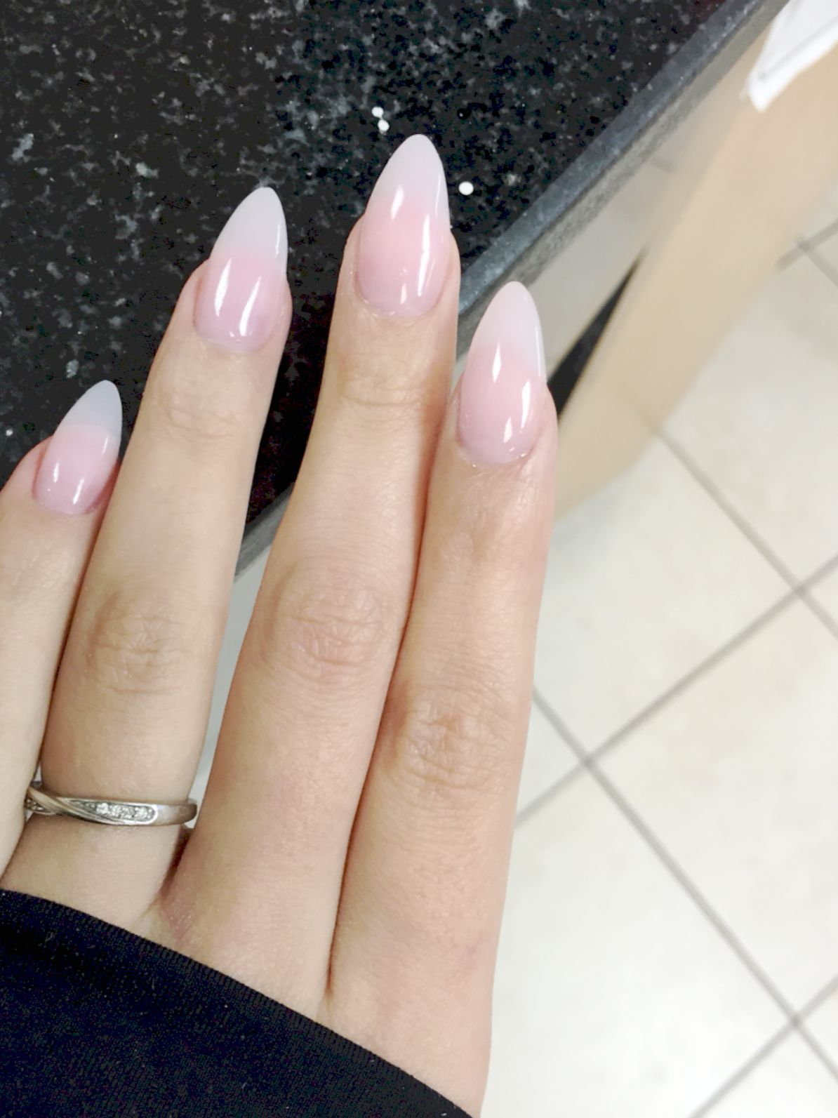 Clear Acrylic Nail Designs Amazing Clear Acrylic Nails Almond Acrylic Nails Natural Acrylic Nails