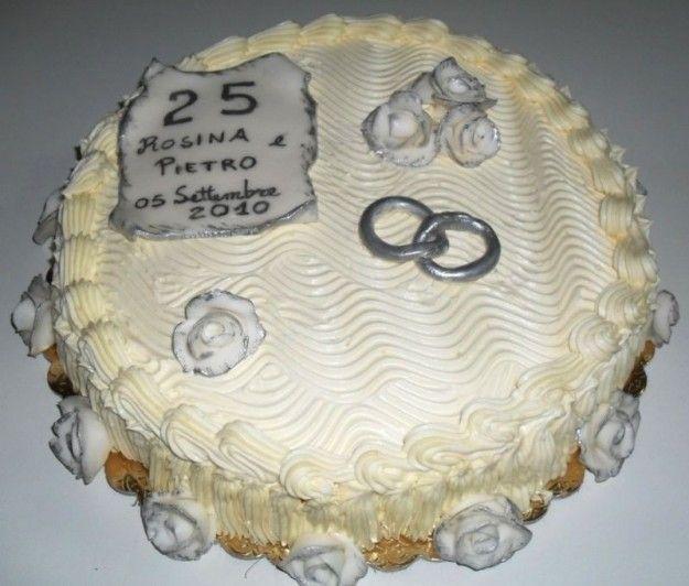 Assez torte per anniversario di matrimonio con panna - Cerca con Google  EK16