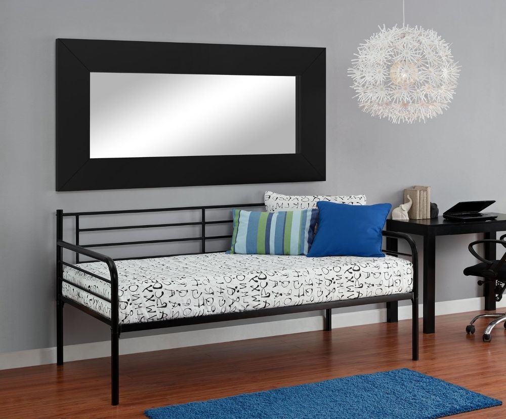 Twin Size Metal Daybed Guess Sleeper Seating | Stuff to Buy | Pinterest