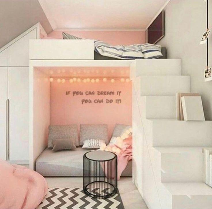 Pin by notta🔥 on Room desinings Girl bedroom designs