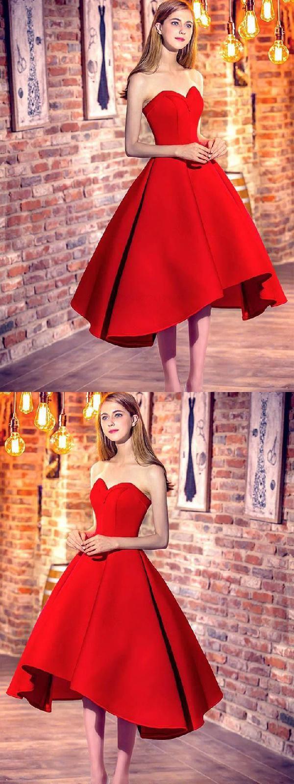 Red prom dress prom dress short promdressshort redpromdress short