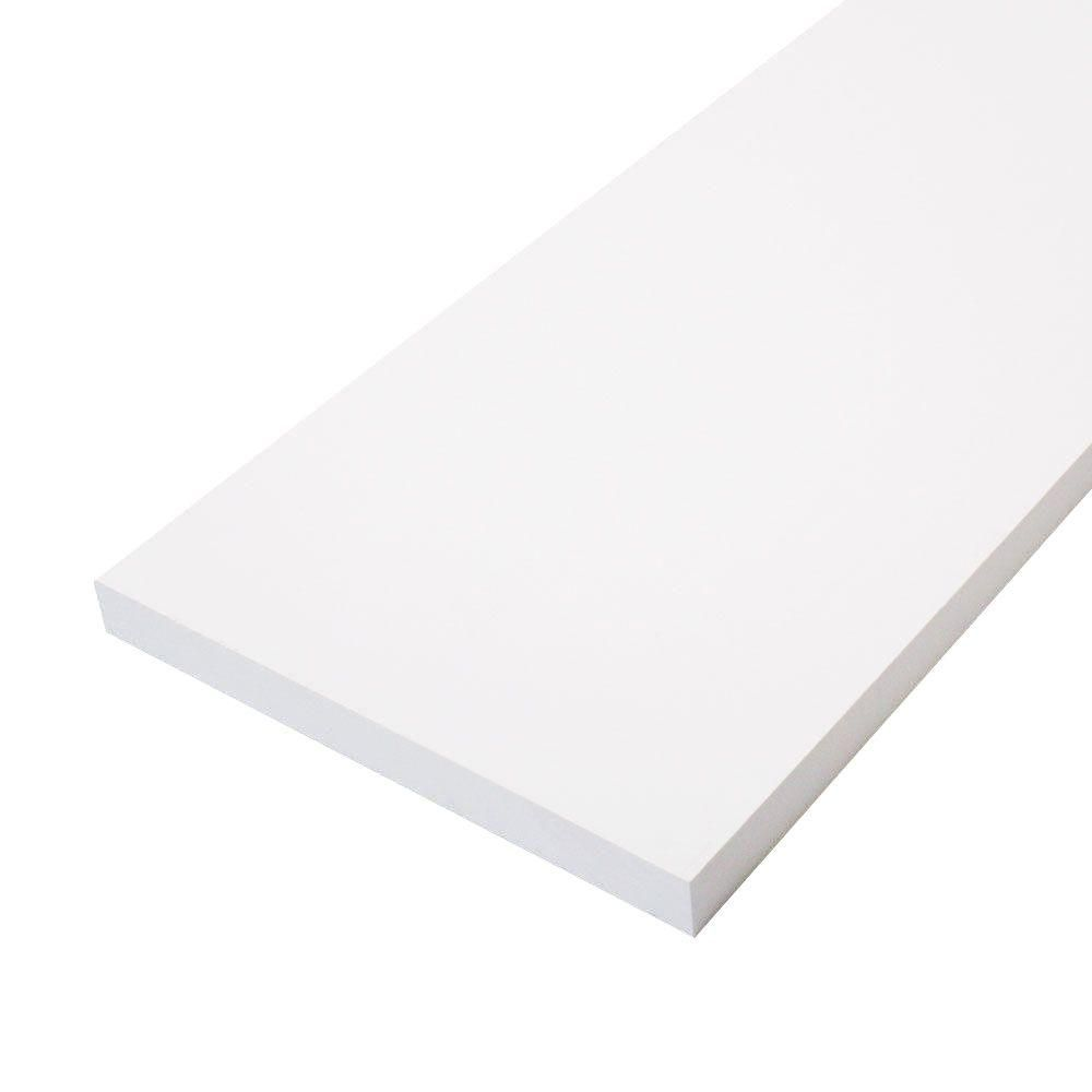 1 In X 12 In X 8 Ft Primed Pine Finger Joint Board Pfjb1128 The Home Depot In 2020 Finger Joint Base Moulding Pine Trim