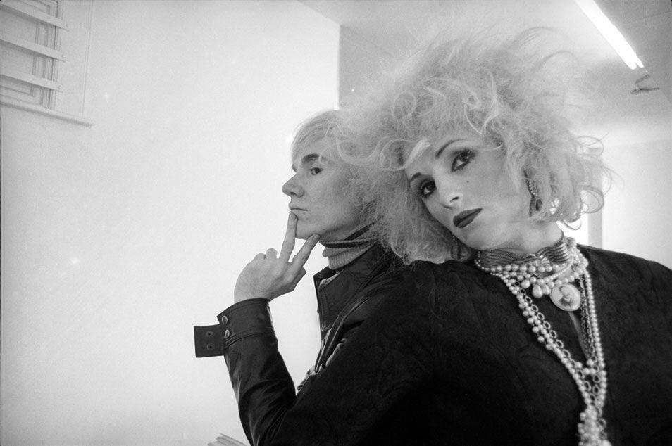 Cecil Beaton  Warhol & Candy darling