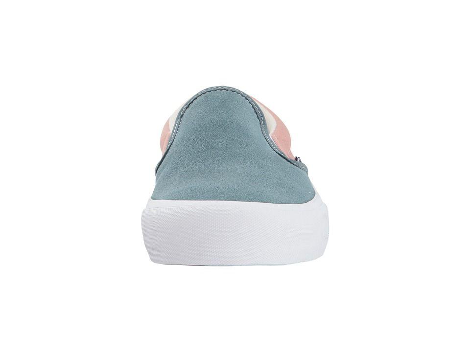 faaf62f40d89 Vans Slip-On Pro Men s Skate Shoes Goblin Blue Mahogany Rose ...
