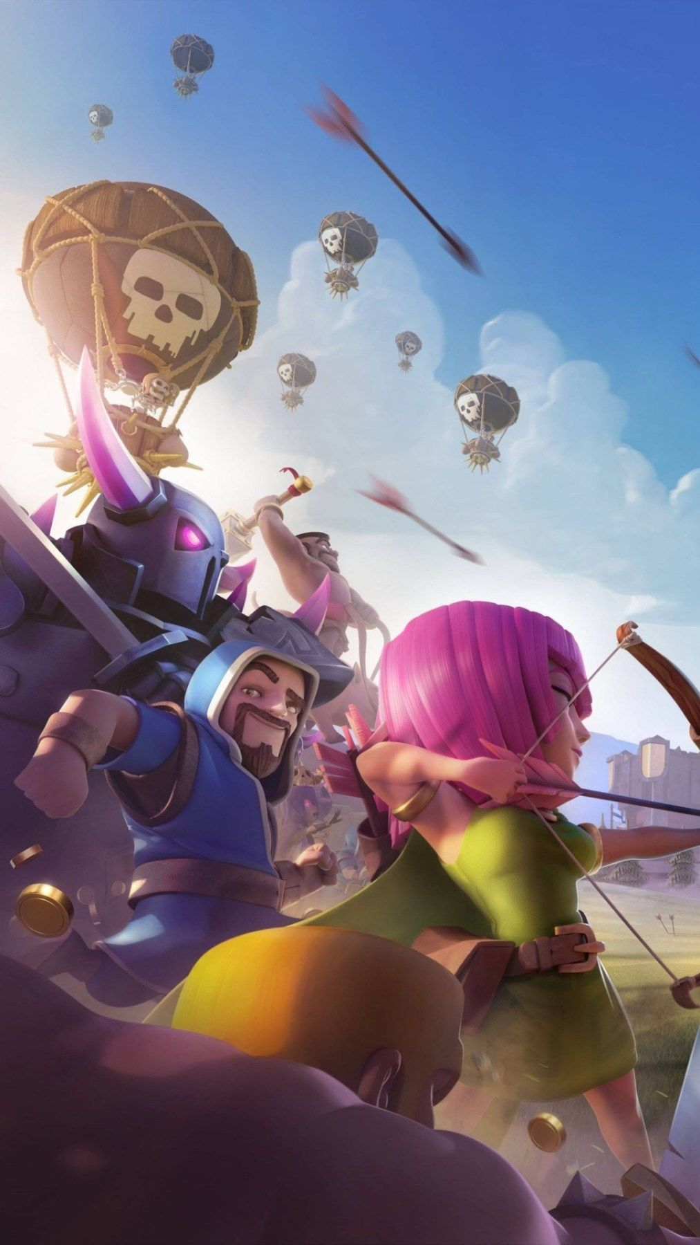 Clash of Clan Wallpaper HD Background Images Android ...