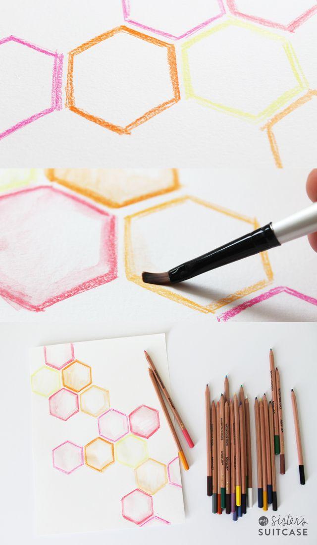 Diy Watercolor Art The Easy Way Watercolor Art Diy Diy Art
