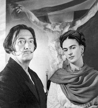 Dali With Frida Kahlo More Pins Like This One At Fosterginger