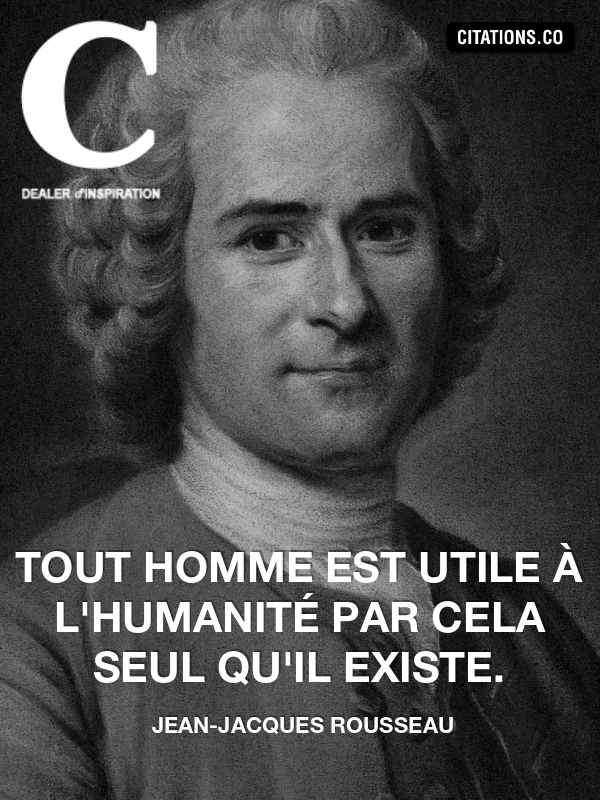 Jean Jacques Rousseau Ermenonville Pinterest Citation