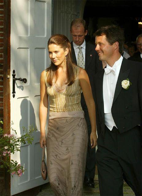 Wedding Birgitte Zachau and Jeppe Handwerk, August 17, 2002 in Hou Kirke on Langeland.