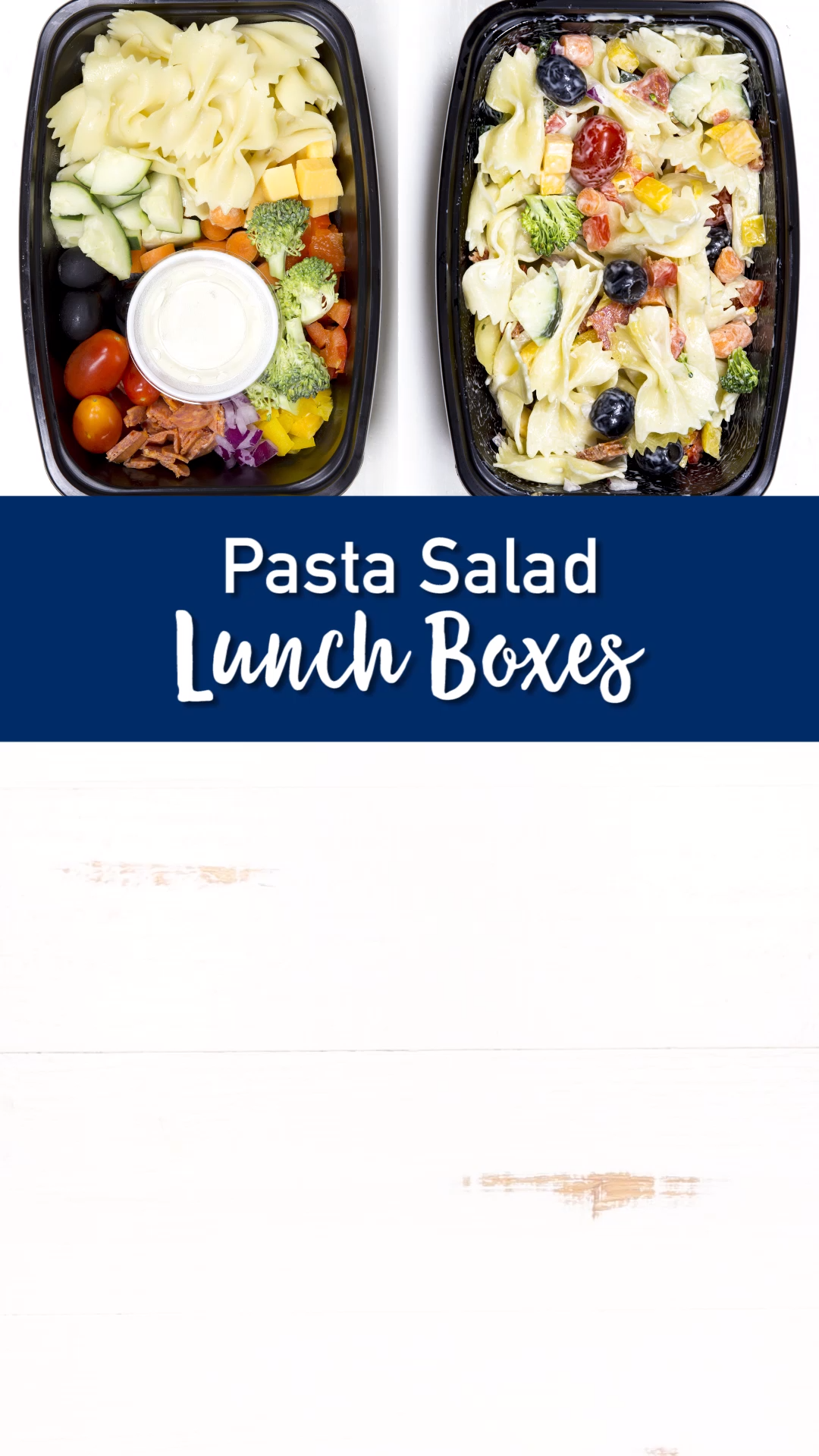 Photo of Pasta Salad Lunch Boxes