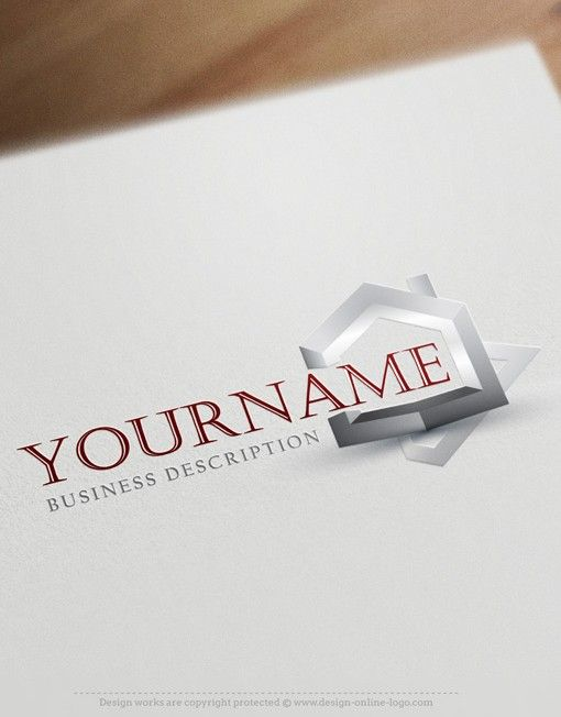 3d house real estate logo free business card best real estate