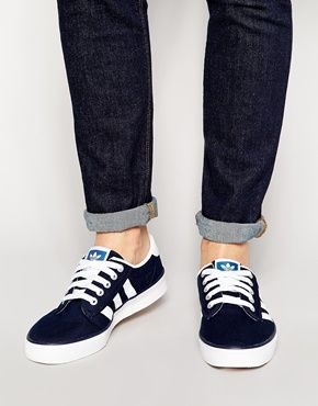 adidas originals kiel canvas trainers