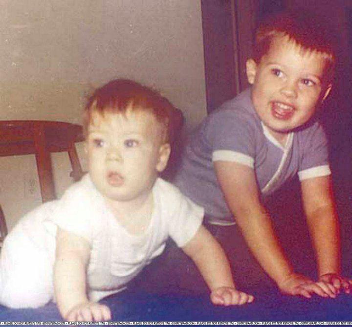 brad pitt and his brother doug