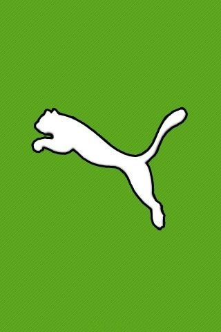 White puma green background | Brand Names | Nike wallpaper ...