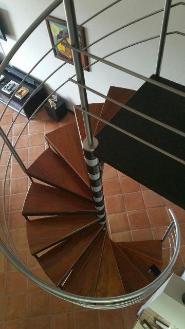 Escaleras En Espiral Modernas Y Originales Proyectos Pinterest - Escaleras-en-espiral
