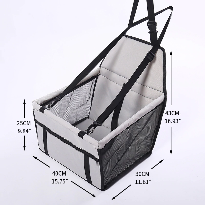 Travel Dog Car Seat Cover Folding Hammock In 2020 With Images