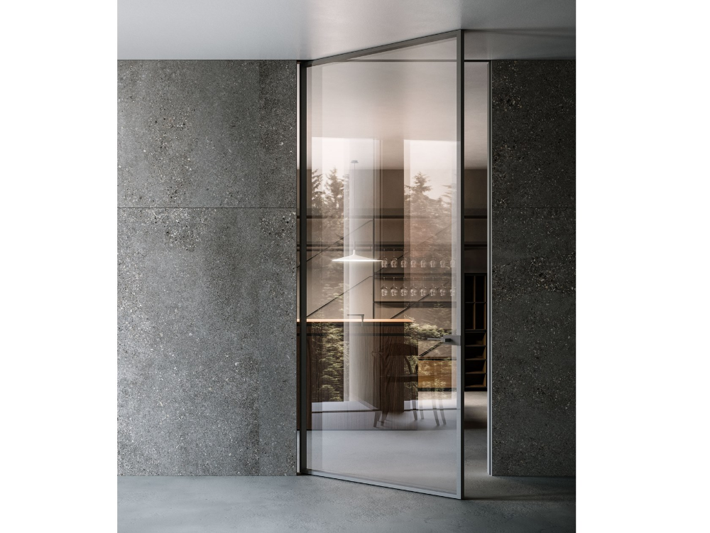 Hinged Flush Fitting Glass Door Style Style Collection By Adielle Internal Glass Doors Glass Door Internal Doors